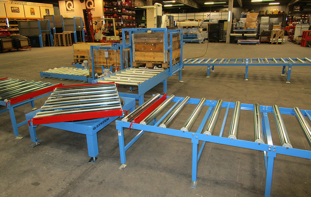 A Semi-automatic Conveyor System Can Make a Big Difference