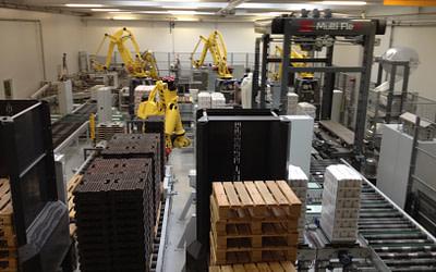 Lantmännen Cerealia i Vejle har et komplet fuldautomatisk system fra Q-System