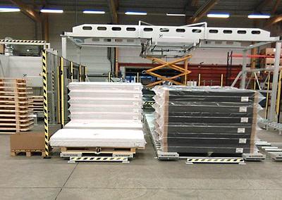 Udfødning af færdige madrasser
