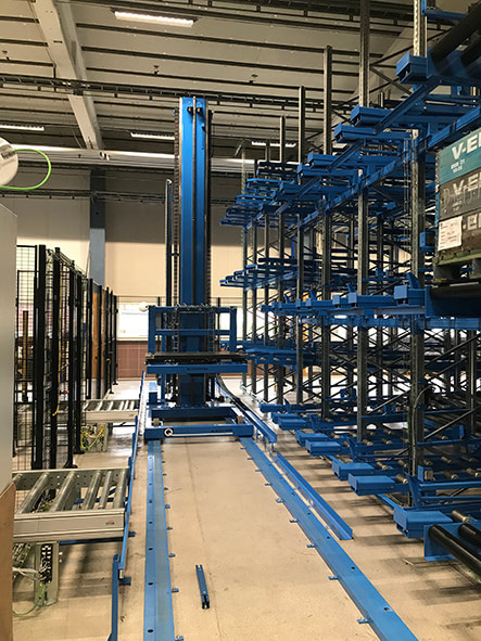 Q SystemLoader/crane
