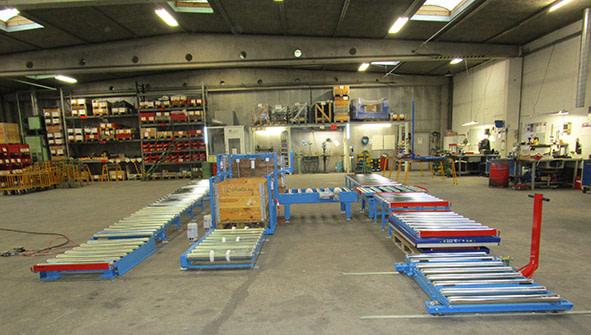 Non-driven conveyor system