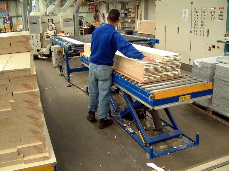 Løfteborde træ produktion
