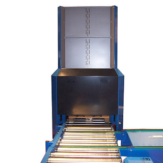 In-line pallemagasin