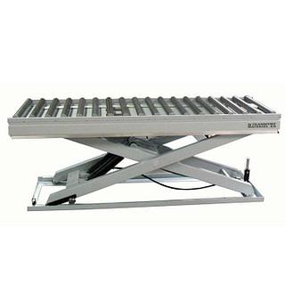 Løftebord med udrevet rullebane / lifting table with non-driven roller conveyor