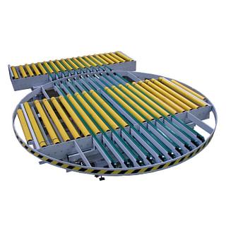 Tandremsdriven växel kombinerat med vridbord
